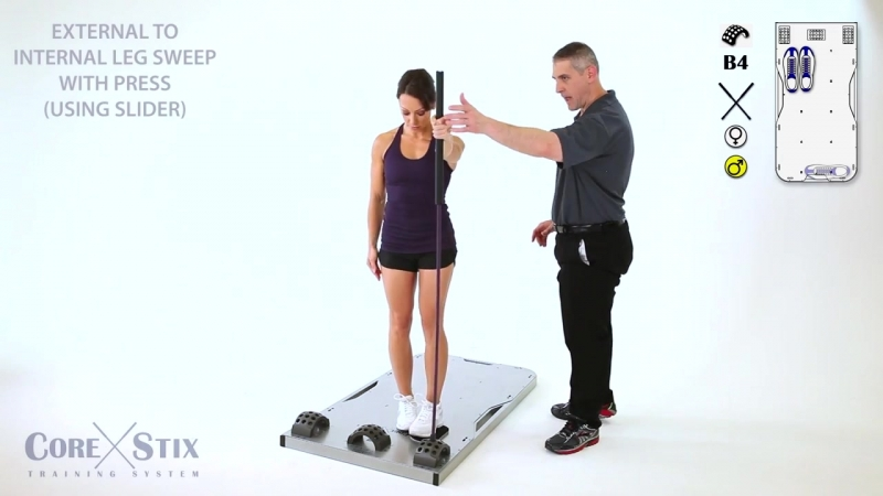 External to Internal Leg Sweep with Press