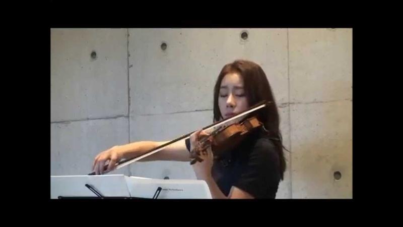 바이올리니스트 신지아 - 슈베르트 음악에 An die Musik