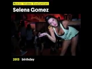 10 years of @selenagomez hits right here.