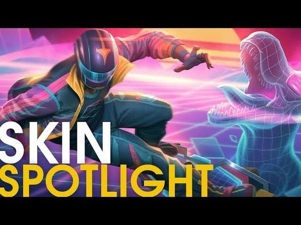 Vapor Wave Poseidon Skin Spotlight
