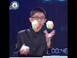 Китайскому мальчике 13 лет - на освоение этого