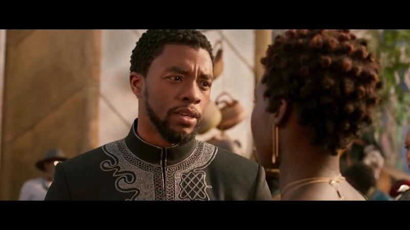 Чёрная Пантера   Фичуретка «Коронация нового правителя»