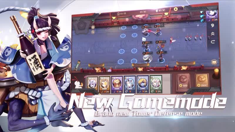 Shikigami Defense Mode Onmyoji Arena