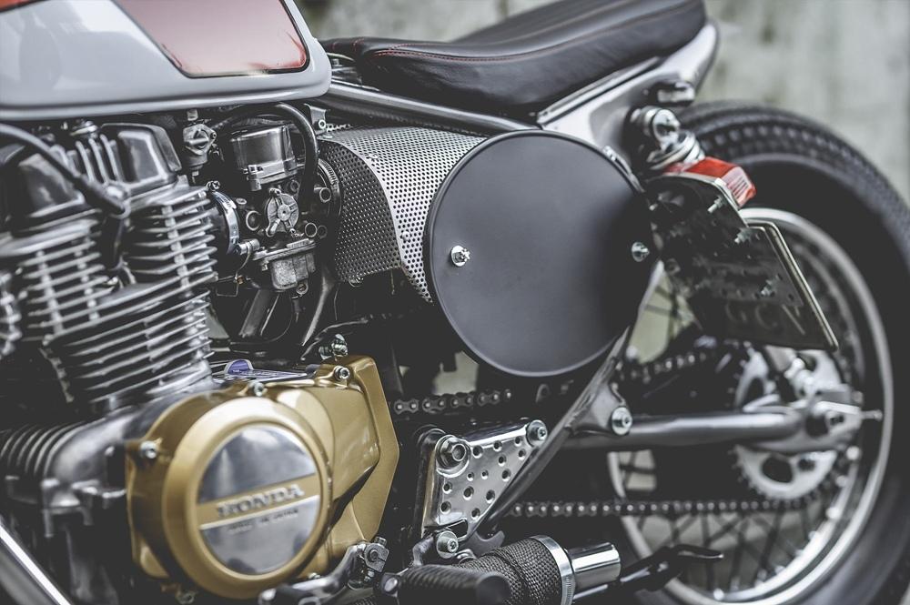 T.Jasin Motorcycles: трекер Honda CB400