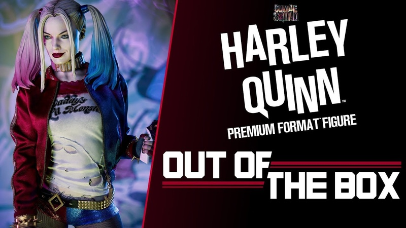 Harley Quinn Premium Format™ Figure Out of the Box – Suicide Squad