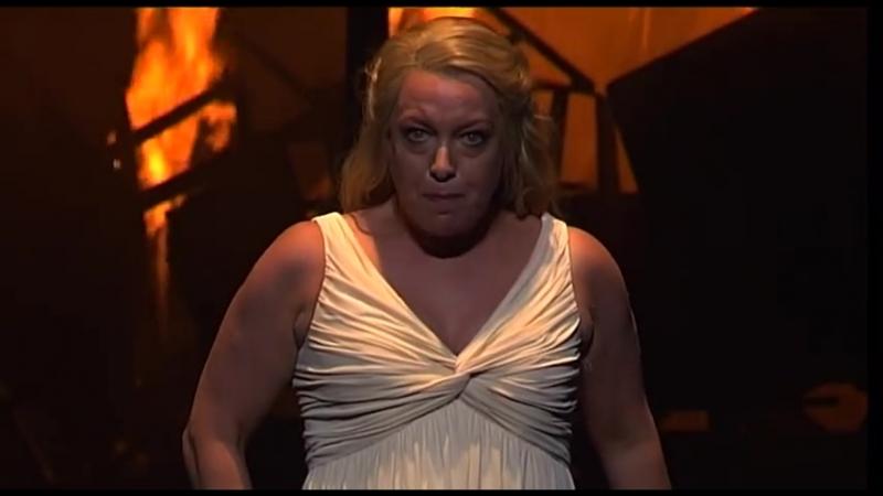 Nina Stemme sings Fliegt heim ihr Raben from Gotterdammerung by Wagner