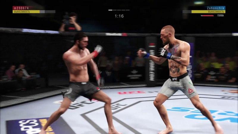 JFL 11 FEATHERWEIGHT TITTE FIGHT m290674 Brian Ortega vs zohanchik Conor McGregor