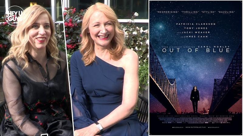 Patricia Clarkson Carol Morley on their female led noir Out of Blue