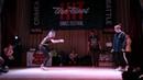 Hit The Floor Battle vol.5 hip-hop beginners 1/4 Lil Tee(win) vs Sancho