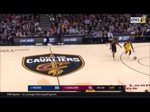 JR Smith Clutch Defense, Steals ball from Oladipo! Cavs vs Pacers Game 2 April 18 2018