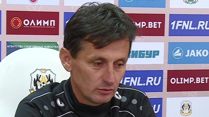 ФК «Тюмень» - «Мордовия». Горан Алексич