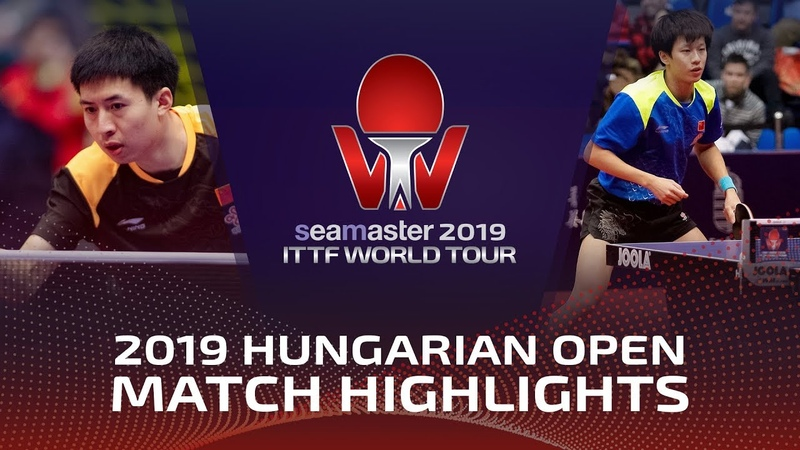 Lin Gaoyuan vs Fang Bo | 2019 ITTF World Tour Hungarian Open Highlights (R16)