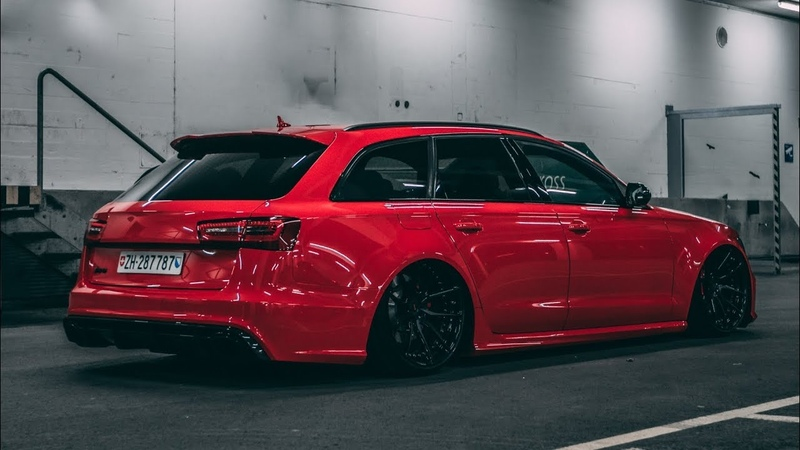 The Red Devil Adrian`s bagged Audi RS6 4K