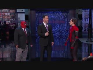 Том Холланд официально представил новый костюм Человека-паука