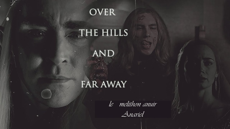 Over the hills and far away; Thranduil, his wife and Sauron