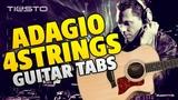 DJ Tiesto Adagio for Strings (guitar tabs)