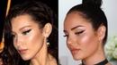 Bella Hadid Inspired Makeup Tutorial Dramatic Winged Eye by Celebrity MUA Patrick Ta