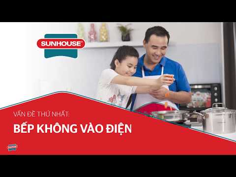 Hướng dẫn khắc phục lỗi thường gặp ở Bếp từ, Bếp hồng ngoại đơn | SUNHOUSE GROUP