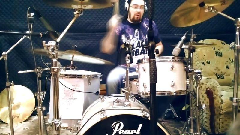 Stonehand - Born On The Bayou (Drum Cam)