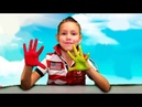 Learn Colors for Kids Body Paint Finger Family Songs Nursery Rhymes for Toddlers Trou La La Kids