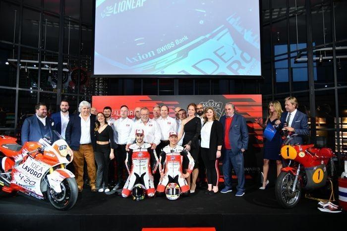 Презентация команды Forward Racing MV Agusta 2019