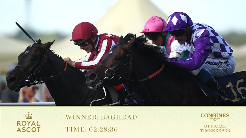 Baghdad Wins The King George V Stakes | Royal Ascot 2018