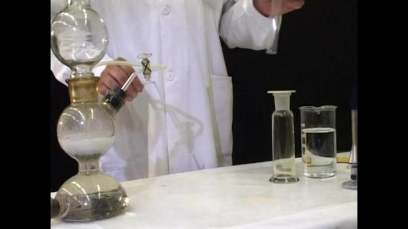 Взаимодействие хлора с водородом.mp4