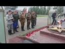 Возложение к Вечному огню участниками Военно-исторического клуба За Родину!