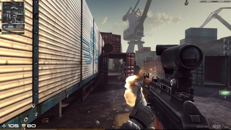 Contract Wars Просто игра с Акс74у