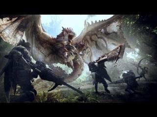 Ищем на кого можно охотиться в Monster Hunter World