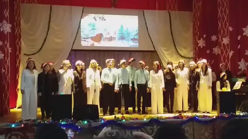новый 2019 год new 2019 year Шымкентский музыкальный колледж Южно-Казахстанский музыкальный колледж ЮКМК  Снег кружится