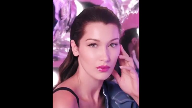 Bella Hadid for Dior Addict Laquer Plump 2018 ad campaign