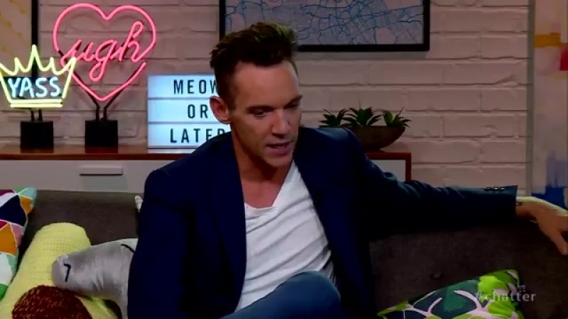 JonathanRhysMeyers spills the tea on MatchPoint, BendItLikeBeckham, and more. More on chatter