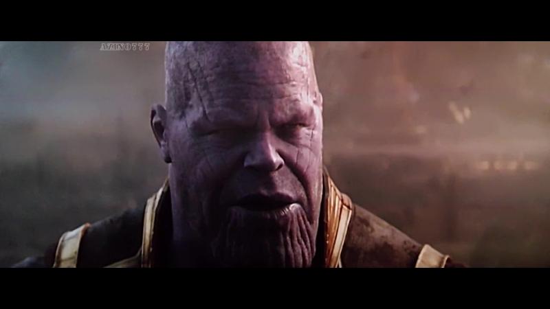 Мстители Война Бесконечности. Доктор Стрэндж и Старк против Таноса.