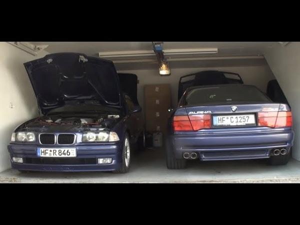 Worlds BEST Alpina pair BMW ALPINA B12 5,7 Coupé and B8 4,6 Convertible in ALPINA Blue metallic