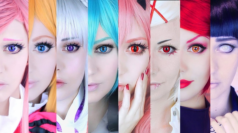 ☆ Review What Circle Lenses for cosplay PART 1 ☆