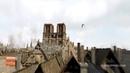Paris au Moyen Age en 3D à vol doiseau - Suivez les hirondelles