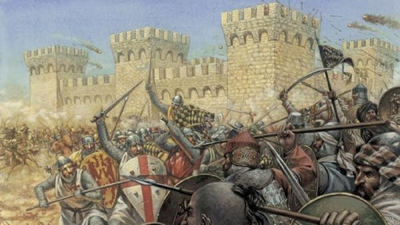 ДЫРЫ-УБИЙЦЫ: Средневековая фортификация