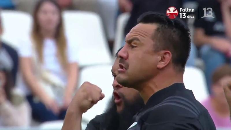 Haka Maori All Blacks Chile vs Nueva Zelanda