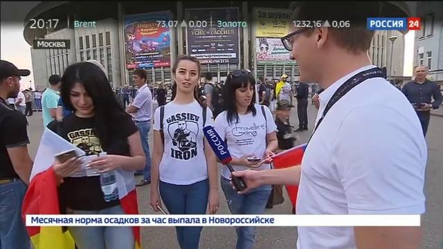 Новости на Россия 24 • Гассиев и Усик встретятся в финале Всемирной боксерской Суперсерии