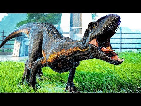 Построил свой парк Динозавров в игре Мир Юрского Периода Jurassic World Evolution от ФГТВ