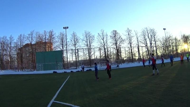 FC Nippes САТУРН 2 3 25 03 2018 2 тайм