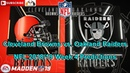 Cleveland Browns vs. Oakland Raiders | NFL 2018-19 Week 4 | Predictions Madden NFL 19