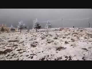 Сильный снегопад прошел в Алжире, Турции, Пакистане. Snowfall took place in Algeria, Pakistan,Turkey
