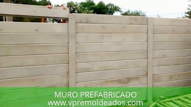 MURO PREFABRICADO