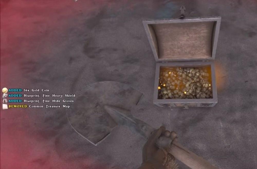 Сундук с сокровищами в Atlas
