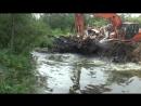 Расширение и чистка пожарного водоема по Приморскому ш д 63 п Большая Ижора