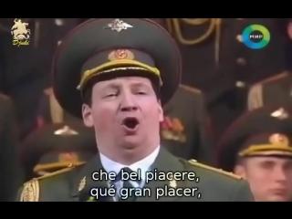 Grigory osipov - coro del ejercito rojo - largo al factotum de il barbiere di siviglia de rossini (subtítulos español e italiano