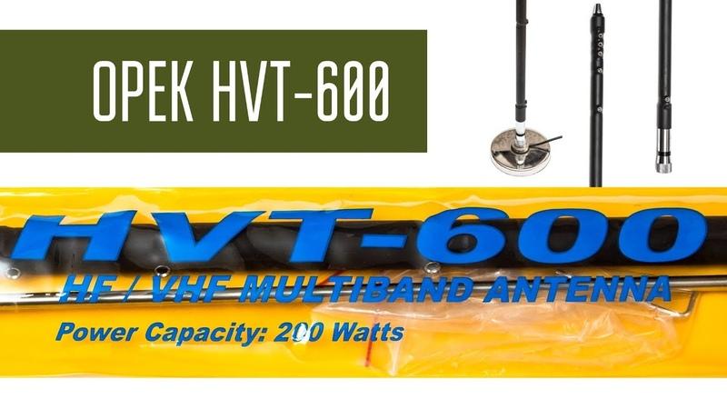 OPEK HVT-600 - Многодиапазонная автомобильная КВ УКВ антенна. Обзор. Радиосвязь на КВ. » Freewka.com - Смотреть онлайн в хорощем качестве