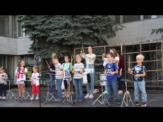 Мастер-класс по игре на барабанах 1.09.18